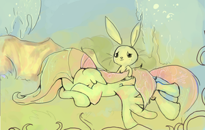 Fluttershy Paintchat by CaramelFlower