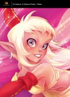 Cover of the Dofus Mag H.S. - close-up by MabaProduct