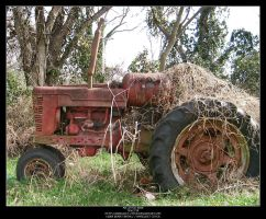 Tractor by Angelrat-Stock