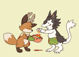 Dinner's Ready by HappyCrumble