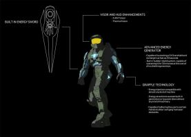 Master Chief enhanced by crash360