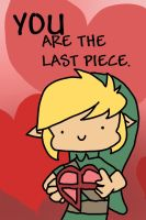 Valentines card: Link by AskPanther