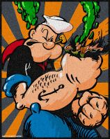 Popeye by ADE-doodles