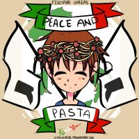 Peace and Pasta by CipeHeheLOL
