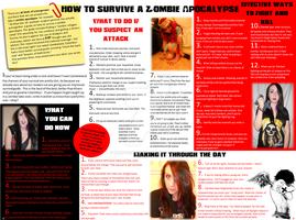 How To Survive A Zombie Apocalypse by MangoChutney94