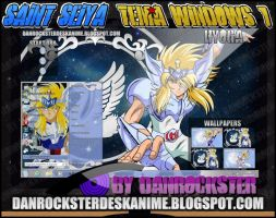 Hyoga Cygnus Theme Windows 7 by Danrockster
