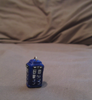 Doctor Who TARDIS Charm by Dark-Taser