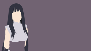 Hinata Hyuuga (The Last) - Minimalist Wallpaper by douglaaz