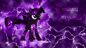 Twilight Sparkle - Dark Explosion by Jamey4