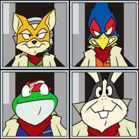 We're Starfox by EnterPraiz
