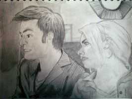 Doctor Who: DI Smith and Lewis by Hatters-Workshop