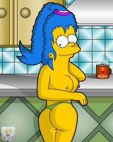 Marge the housewife by mastadee