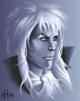 Jareth - King of goblins by Candra