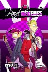 The Paul Reveres Issue 5 Cover by jiggly