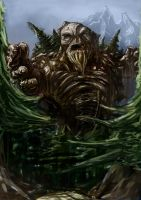 earth giant by Wuxy