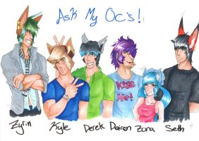 Ask my OC's!!!!!! by Zona-Light