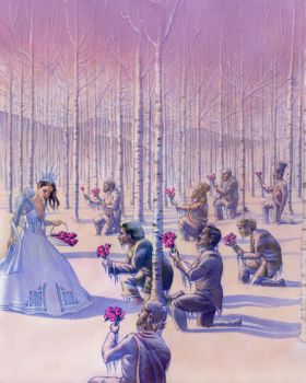 The Garden of the Snow Queen by mlauritano