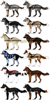 ~Point adoptables 26~ by Squiggy-Adoptables