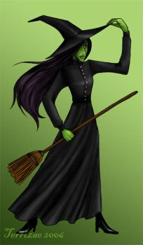 Wicked-Elphaba by Terrizae