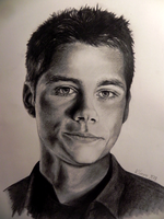 Dylan O'Brien / Stiles from Teen Wolf by thwats