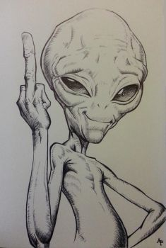 Paul l'extraterrestre by Alizee-P