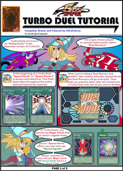 Turbo Duel Tutorial - Page1 by UltraFalcon