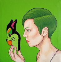 Frenchie by angiethepirate