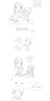 Daddy's Birthday-Sketch Comic by Sakurarmarie