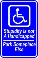 Handicap Parking by Rayfire