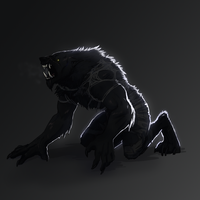 CA: The Werewolf by wezaegoth