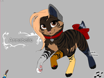 [CLOSED] CAT ADOPTABLE - ANNABELLE by TheKarkkinami