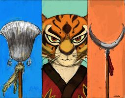 Tigress by TheLivingShadow