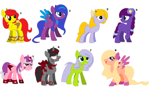 ~Mixed Pony Adopts #4~ CLOSED by IIbukiMioda