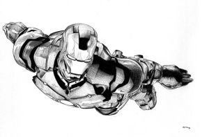 Iron Man by teach