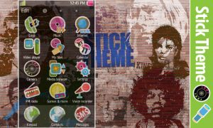 Stick Theme - Wave S8500 by stand87