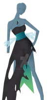 Queen Chrysalis 3 Gijinka Design by CeshionCo