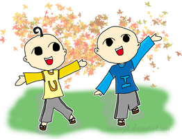 Upin and Ipin by Fia-V98