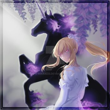 Sharon and Eques   Pandora Hearts by Mikkie33