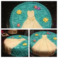 Bridal shower cake by 12hope24