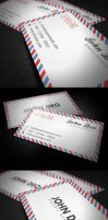 Envelope Business Card by myjilson
