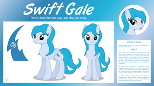 MLP OC Bio Sheet : Swift Gale by outlaw4rc