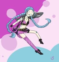 Jinx by pixelated-nightmare
