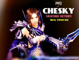 CHESKY:Vication Victory Episode this Comming 2013 by aizaabella24