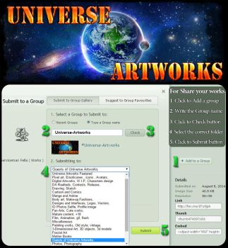Submit in Universe-Artworks from artist gallery by Ehsartem