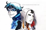 The Moron and the Queen by raintalker