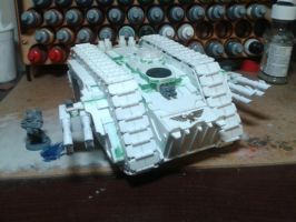 Spartan Assault Tank WiP by MrBeardyMan