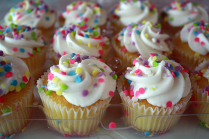Colorful Cupcakes II by EnchantedCupcake