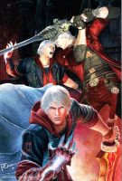 Nero vs. Dante by PhilipCruz30