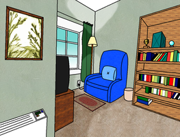 Living Room (Colored) by Nosh59