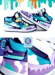color splash sneaker by Bobsmade